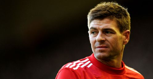 Gerrard: could play a big role at Old Trafford