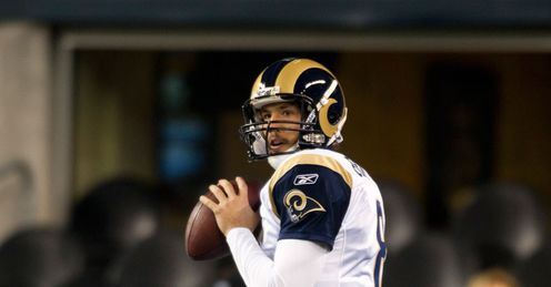 Wembley wonder: Sam Bradford's going to be the man to watch for St Louis, says Alex