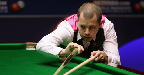 Hawkins: winner of the 2012 World Snooker Shoot-Out