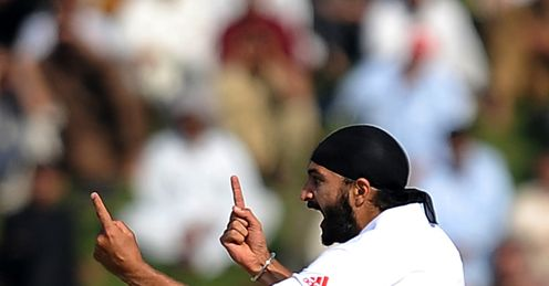 monty panesar pakistan england day three misbah out