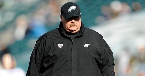 Reid: the Philadelphia coach could lose his job if his side do not improve, says Simon