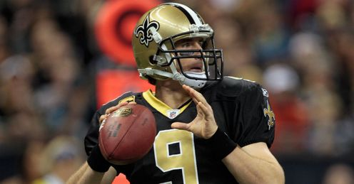 Brees: on fire again for Saints
