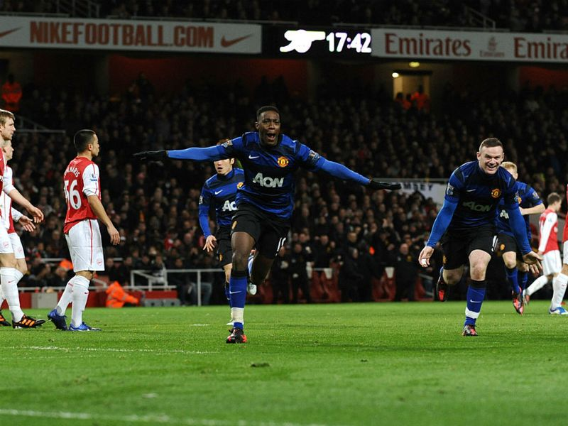 manchester united 2 1 arsenal