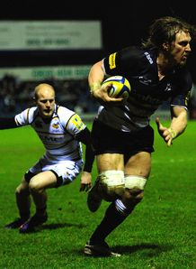 Andy Powell sale v wasps 2012 AP