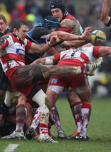 SKY_MOBILE Bath v Gloucester action