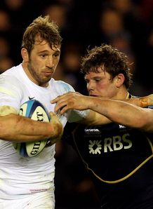 Chris Robshaw Ross Ford England Scotland 2012 6N