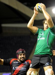 Mike McCarthy line out connacht edinburgh