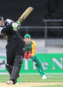 Guptill stars for Black Caps
