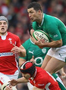 Rob Kearney Ireland v Wales Six Nations 2012