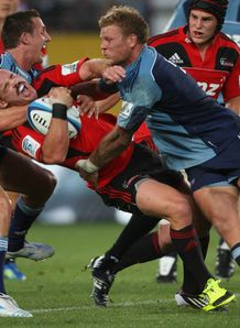 Ryan Crotty Crusaders v Blues 2012
