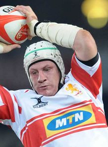 Wikus van Heerden Lions 2012