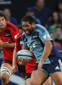 Charlie Faumuina blues v crusaders
