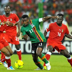 Katongo: In action for Zambia