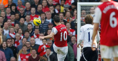 Top ten Arsenal-Spurs