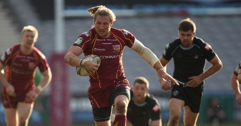 Eorl Crabtree: needs to lift his Giant team mates