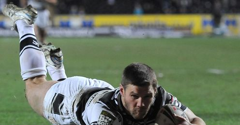 Hull FC Kirk Yeaman try 2012