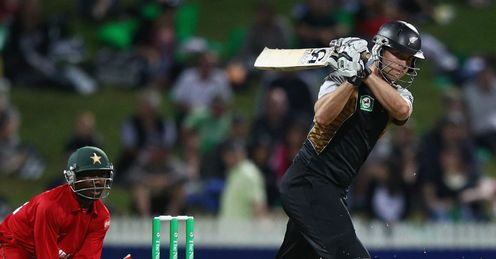James Franklin New Zealand v Zimbabwe T20 Hamilton