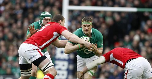 Jamie Heaslip Wales