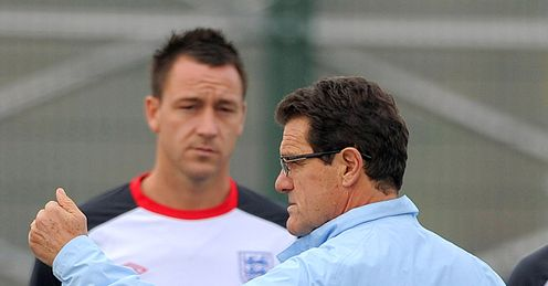 Capello: should he have kept his views on the captaincy in-house?