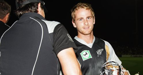 Kane Williamson wins T20 New Zealand v Zimbabwe