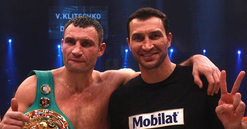 Klitschkos: The Ukrainian brothers will have a lasting legacy in boxing, says Glenn