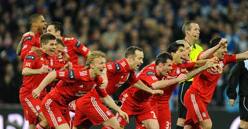 Liverpool: hoping for more trips to Wembley