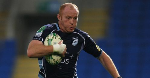 Martyn Williams Cardiff Blues Heineken Cup 2010