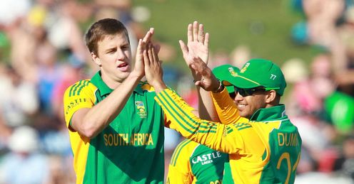 New Zealand v South Africa 3rd ODI Morne Morkel