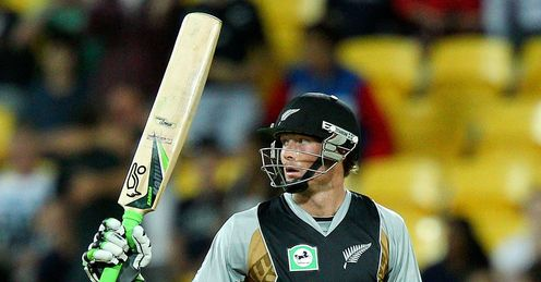 New Zealand v South Africa Martin Guptill