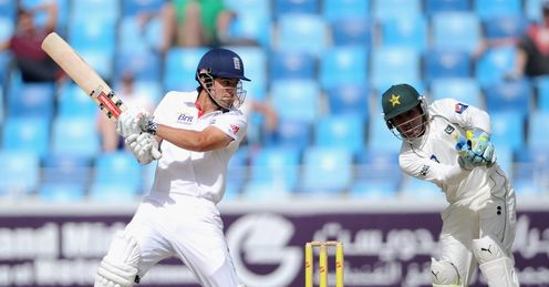 Pakistan v England 3rd Test Dubai Alastair Cook
