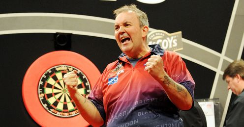 Taylor: hit a nine-darter in Aberdeen