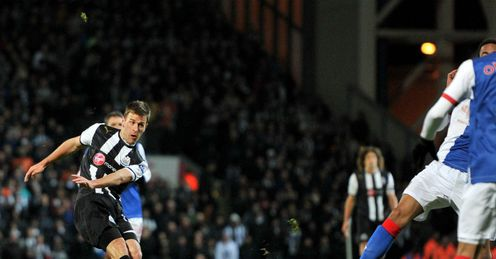 Ryan Taylor Newcastle United vs Blackburn