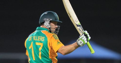 ab de villiers south africa new zealand first odi wellington