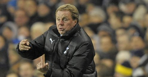 Harry Redknapp: will be looking for a reaction from his players