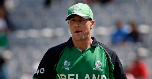 John Mooney Ireland v West Indies World Cup PCA Stadium Mohali Mar 2011