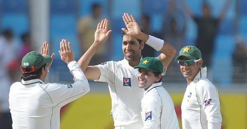 pakistan england umar gul day four third and final test dubai