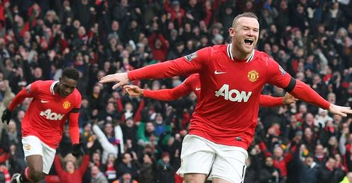 Rooney: vital to Man United's title hopes