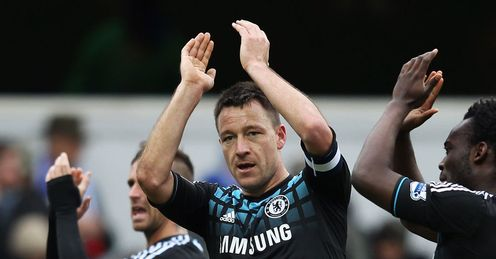 Terry: vitally important at heart of defence, says Ray