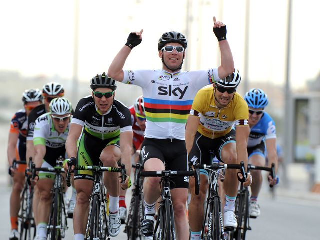 Cavendish: First victory in the rainbow jersey