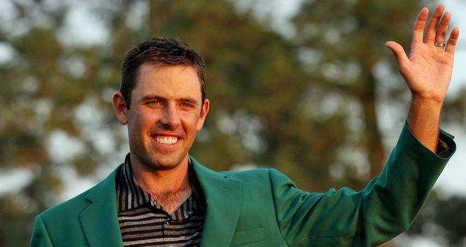 Charl Schwartzel: The current Masters champion.