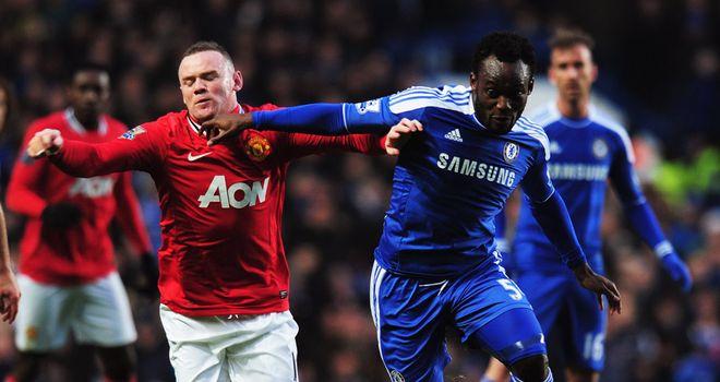"""روني ودفعه من الثقه ..."""" Chelsea-v-Manchester"""