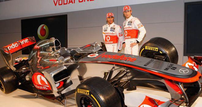 New McLaren F1 car