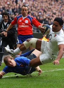 Manu Tuilagi France v england