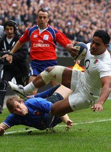 Manu Tuilagi France v england