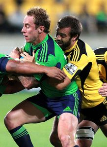 Jimmy Cowan Hurricanes v Highlanders