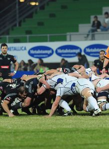 Aironi Rugby v Leinster  RaboDirect Pro 12 scrum 2012