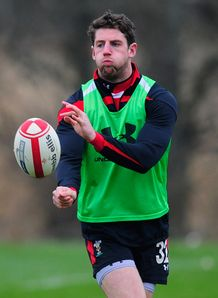 Alex Cuthbert Wales training 2012