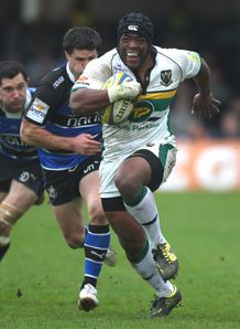 Brian Mujati Northampton Bath 2012