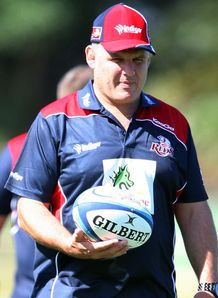 Ewen McKenzie Reds coach 2012