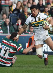 George Pisi Northampton LV Cup Final 2012